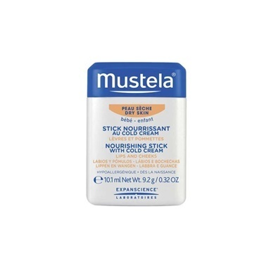 Mustela Nourishing Stick With Cold Cream 10ml Renksiz